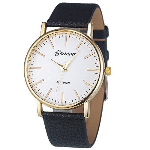 Uhren Damen Armbanduhr Mode Analog Quartz Uhr Frauen Checkers Leder Uhren Quartz Analog Wrist Watch Uhrenarmband Exquisit Uhr Wrist Watch,ABsoar