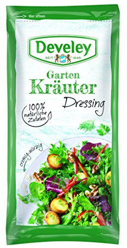 Develey Kräuter Portions Beutel, 14er Pack (14 x 75 ml)