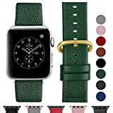 Fullmosa Bracelet Cuir Apple Watch 38mm/40mm(Serie 4) Homme Femme, Bracelet iWatch Series 5 4 3 2 1,Nike+ Hermes & Edition,38mm...