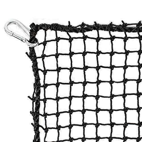 Just For Nets JFN Pro High Impact Golf Net, 24 Nylon, Black, 10' x 15'