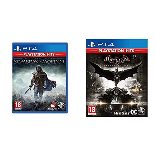 Shadow Of Mordor Ps Hits + Warner Bros Batman Arkham Knight Ps Hits
