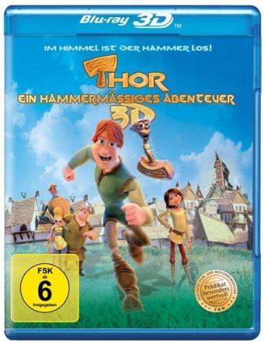 Thor - Ein hammermäßiges Abenteuer / Thor: Legend of the Magical Hammer ( Hetjur Valhallar - Þór ) (3D & 2D) (Blu-Ray)