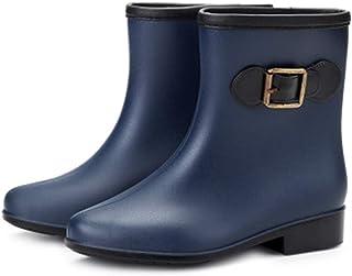 ZOSYNS Dames rubberlaarzen antislip regenlaarzen mode Chelsea Rain Boots dames outdoor schoenen 36-41