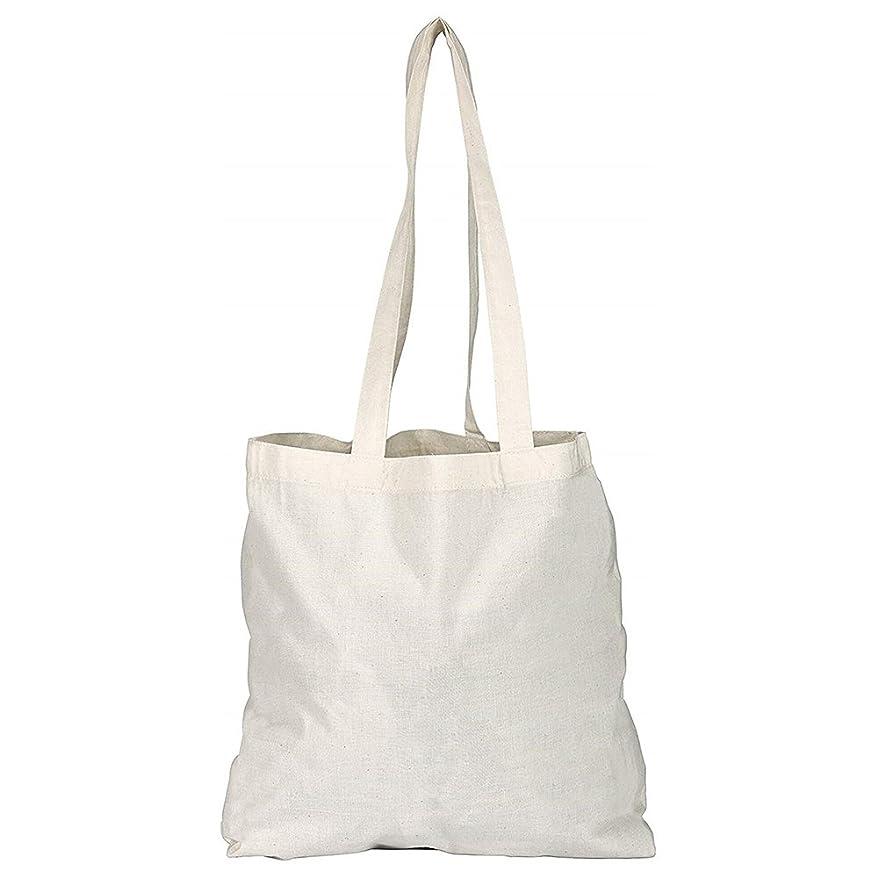 不器用監督する意志に反するeBuyGB Pack of 100 Natural Cotton Shopping Tote Bags - Shoppers
