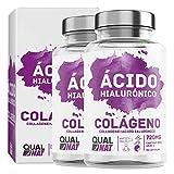 Colágeno con Ácido Hialurónico Cápsulas  Vitaminas C y Zinc   Piel Radiante + Efecto Anti Envejecimi...