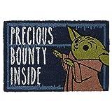 608129b - STAR WARS - Paillasson - Bébé Yoda Precious bounty inside (40x60) (PlayStation 4)