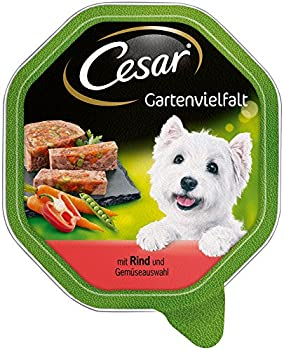 Cesar Nourriture pour chien de Nourriture Jardin diversité - 2x7x150g