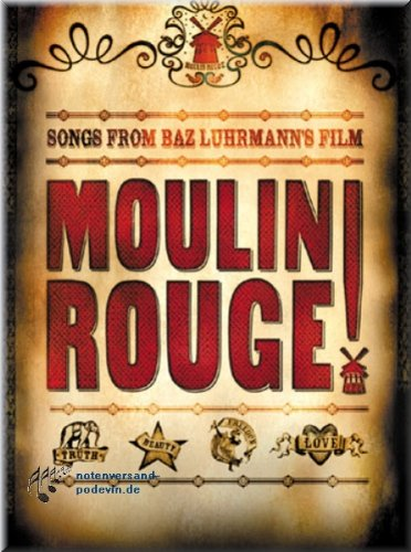 Moulin Rouge - Film-Musical - Noten Songbook [Muzieknoten]
