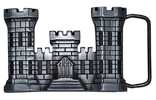 Army Corps Engineers Castle Belt Buckle - Made in USA - Veteran Owned Business.