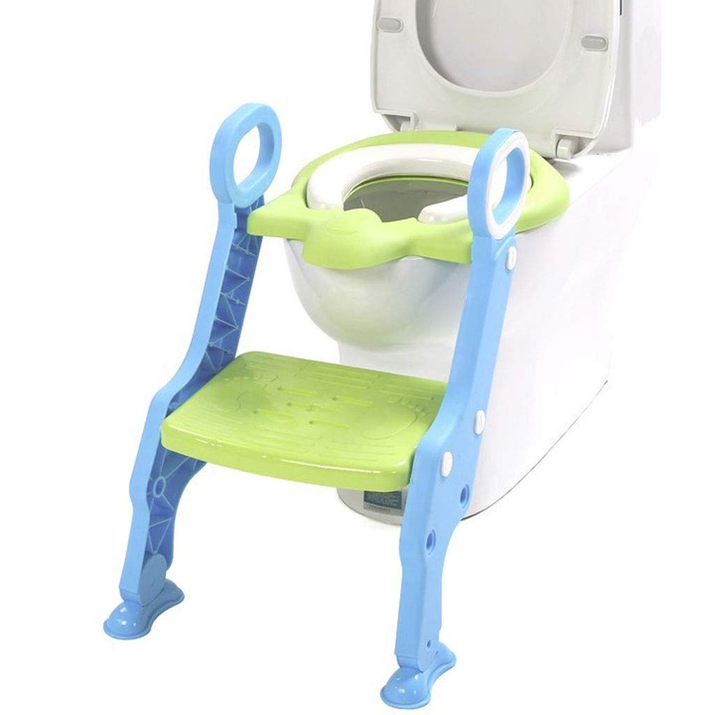 Ayuda para aprender Niño del tocador de escalera Silla de bebé Mujer Kid Boy WC asiento