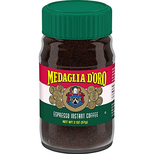 Medaglia D'Oro Instant Espresso Coffee, 2 Ounces (Pack of 12)