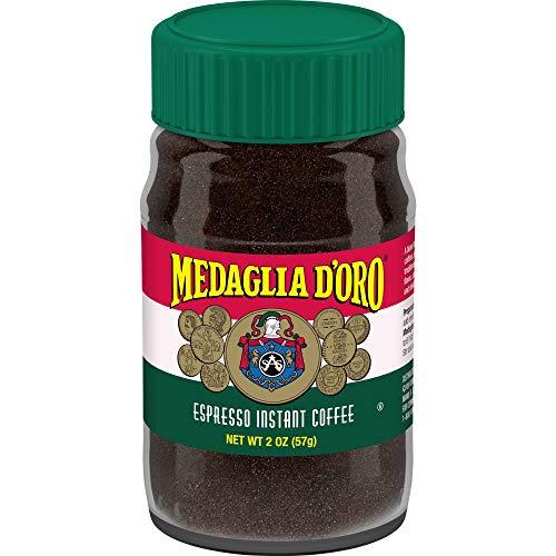 Medaglia D#039Oro Instant Espresso Coffee 2 Ounces Pack of 12
