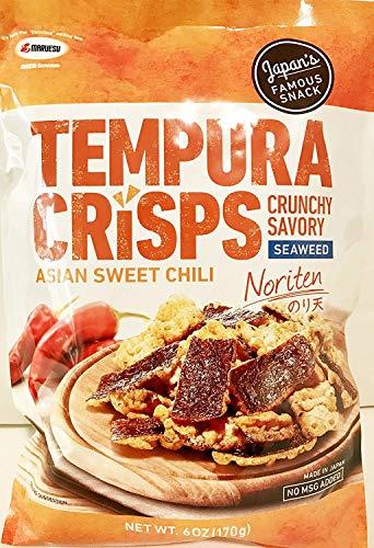 Maruesu Tempura Seaweed Crisps Asian Sweet Chili Noriten Japanese Snack 170g