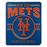 Northwest 1MLB031030019RET MLB New York Mets 50x60 Fleece Southpaw DesignBlanket, Team Colors