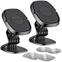 2-Pack Floveme Magnetic Hands Free Phone Mount for Car Dashboard