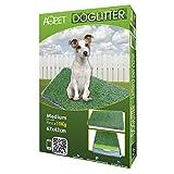 Lettiera MAXI wc per cani e gatti cuccioli taglia media con erba sintetica assorbente ottima per addestramento Potty Patch 3 strati