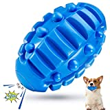 Feeko Durable Squeaky Dog Toys for Aggressive Chewers Large Breed, Almost Indestructible Tough Durable Puppy Teething Chew Toys, Dog Chew Toys Balls for Medium and Large Breed