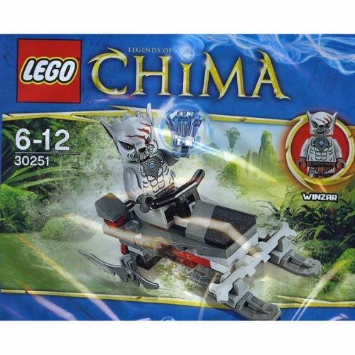 Lego Chima 30251 Winzars Pack Patrol Fahrzeug - 38 teiliges Bauset
