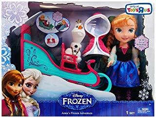 Disney Anna's Frozen Adventure with Sleigh and Olaf