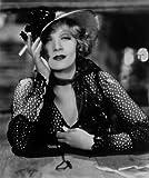 Celebrity Photos Marlene Dietrich in Black and White Dress