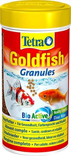 Tetra Goldfish Granules, Mangime in granuli galleggianti per Pesci Rossi e Altri Pesci d'Acqua Fredda - 250 ml