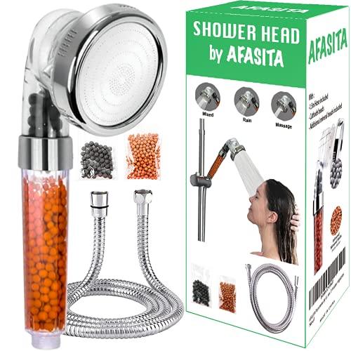 manguera ducha y alcachofa filtro Marca AFASITA