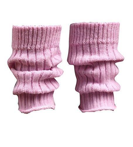 socken-und-mehr Kleinkinder Stulpen 20 cm lang in rosa