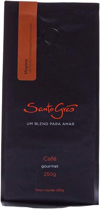 Café Santo Grão, Mogiana, Torrado e Moído, 250g
