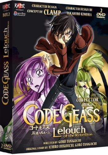 Code Geass Lelouch of The Rebellion-Coffret 2/3 (Saison 1) [Édition Collector]