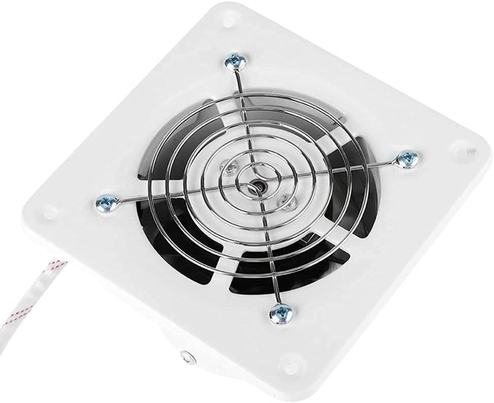 Ventilador de Escape de Alta Velocidad de 4 Pulgadas 20 w 220 v para Inodoro, Cocina, baño, Pared Colgante, Ventana, Vidrio, pequeño Ventilador Extractor Extractor de Ventiladores