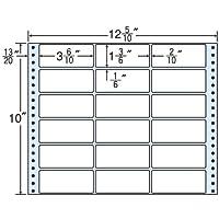 東洋印刷 タックフォームラベル 12 5/10インチ ×10インチ 18面付(1ケース500折) M12G
