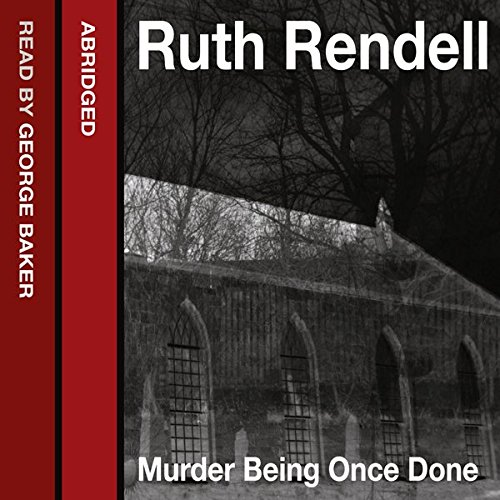 Murder Being Once Done cover art