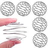 304 Stainless Steel Shaker Ball, Whisk Ball, Milkshake Protein Shaker Ball Wire Whisk Shaker Mixer Blender Mixing Ball Bottle Cup Blend Shaker Bottle(5 PCS)
