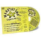 350 Wandtattoo Vorlagen Volume 1 auf CD - Lizenzfreie Cliparts, Royaltyfree, Wandtattoo Clips, Vektordatei und EPS Grafiken -