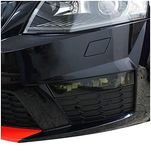 Nebelscheinwerfer Tagfahrleuchten Folien Set Tönungsfolie Aufkleber (Dark Grey, C036 Vorfacelift)