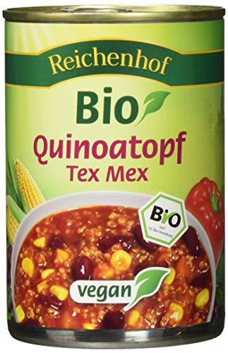 Reichenhof Bio Quinoatopf Tex Mex vegan, 6er Pack (6 x 400 g)