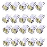 balikha 20 Pièces T10-1206-8SMD Blanc LED Tableau De Bord Instrument Jauge Lampes De Lumière