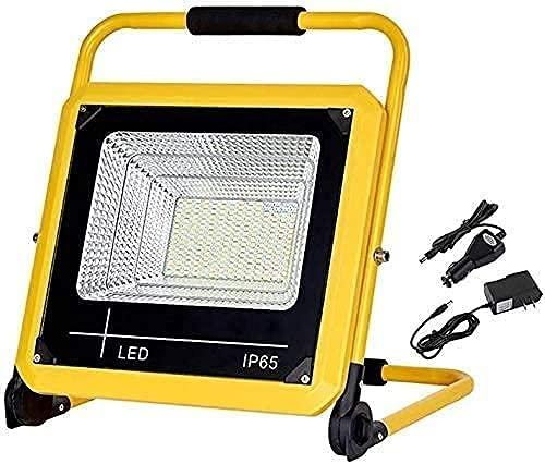 WSVULLD Luces al aire libre LED 80W LED Spotlight al aire libre recargable con 5 modos de luz regulable |Luz de trabajo de seguridad IP65 impermeable para el garden Garage Iluminación de la iluminació
