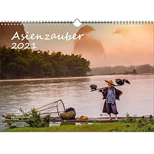 Asienzauber DIN A3 Kalender für 2021 Asien Stadt und Land - Seelenzauber