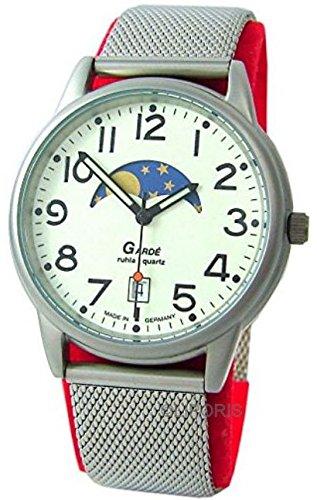 Garde 11–46M–Armbanduhr, Armband in Edelstahl