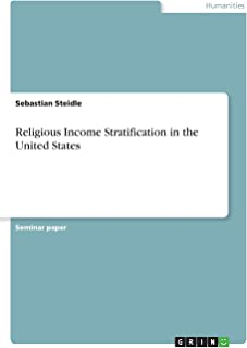 Religious Income Stratification in the United States