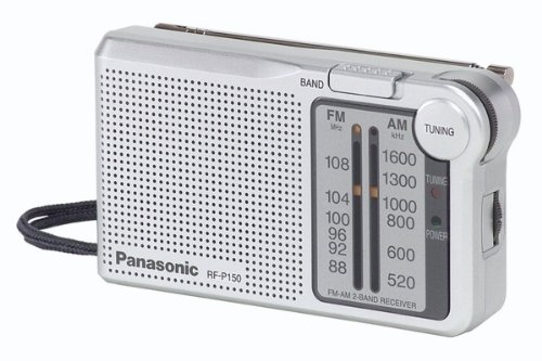 Panasonic RCCD600 Radio Reloj, 2 pieza radio reloj CD con doble operación,...