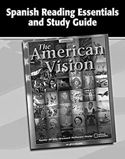 The American Vision, Spanish Reading Essentials and Study Guide, Workbook (UNITED STATES HISTORY (HS)) (Spanish Edition)