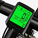 Wireless Bicycle Speedometer and Odometer Wireless Waterproof Cycle Bike Computer with Backlight