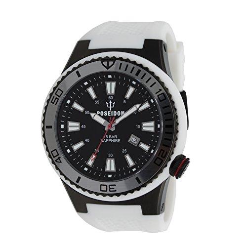 POSEIDON by KIENZLE XL Uhr Analog mit Silikon Armband UP00602