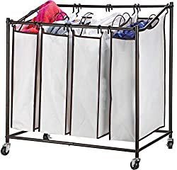 laundry divider rolling storage