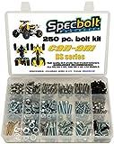 250pc Specbolt CAN AM Bombardier ATV Bolt Kit:DS, Sport, Mud, Recreation, Utility, Renegade, Outlander Max, X, MR Traxter XL XT, Quest, Rally, Sarasota, 50 70 90 175 250 330 400 450 500 650 800 1000