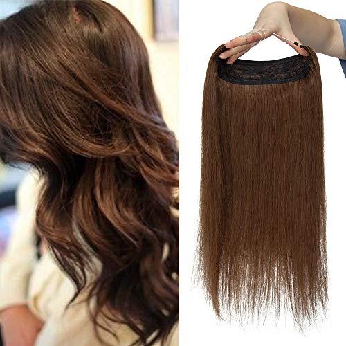 Extension con capelli umani con filo invisibile,...