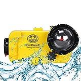 Wasserdichte Unterwasser-Tauchhülle für iPhone 8, 195FT / 60M Schwimmen, Surfen, Schnorcheln,...