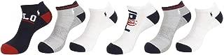 Polo Ralph Lauren Men's Athletic Low Cut Rib Cuff Ped 6-Pair Socks 10-13